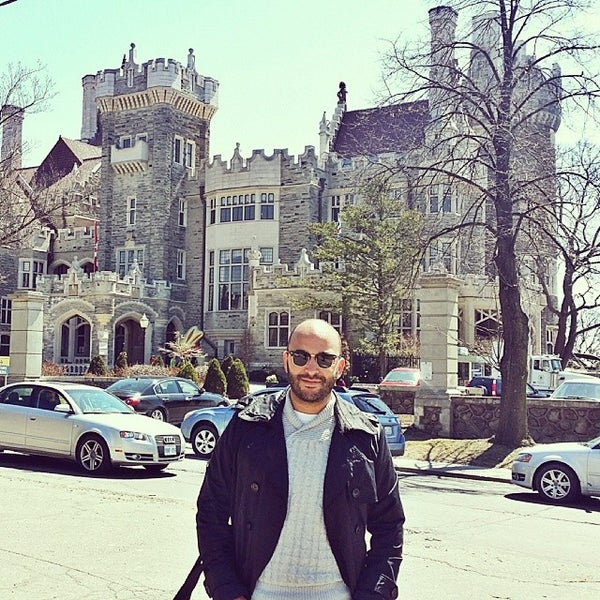 Photo taken at Casa Loma by Ismael B. on 4/20/2014
