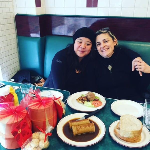 Photo taken at Centre Street Deli by Joanna S. on 1/29/2016