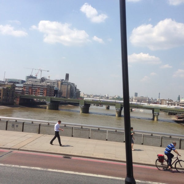 Photo taken at London Bridge by Traci R. on 7/17/2013