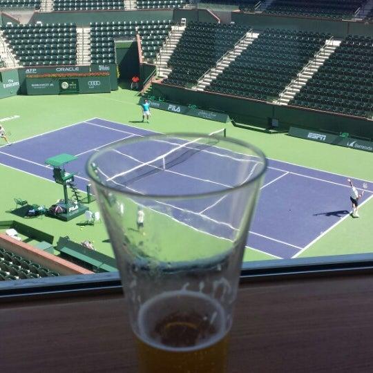 Photo taken at Indian Wells Tennis Garden by Nacho L. on 3/20/2015