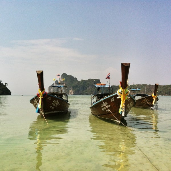 Photo taken at Phi Phi Island by Mariusz M. on 5/30/2013