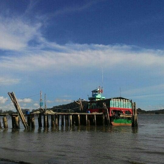 Photo taken at Tanjung Dawai by ZP K. on 7/17/2016