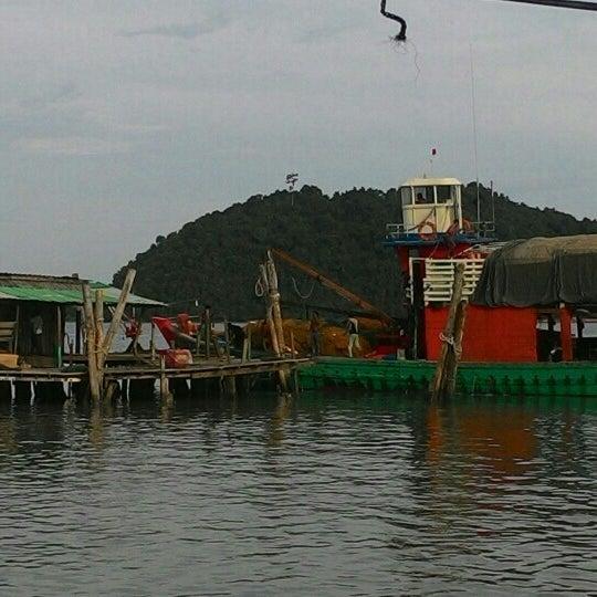 Photo taken at Tanjung Dawai by ZP K. on 7/10/2016