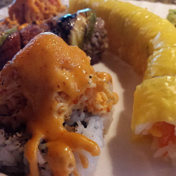 Monday and Tuesday half off rolls 5pm-7pm