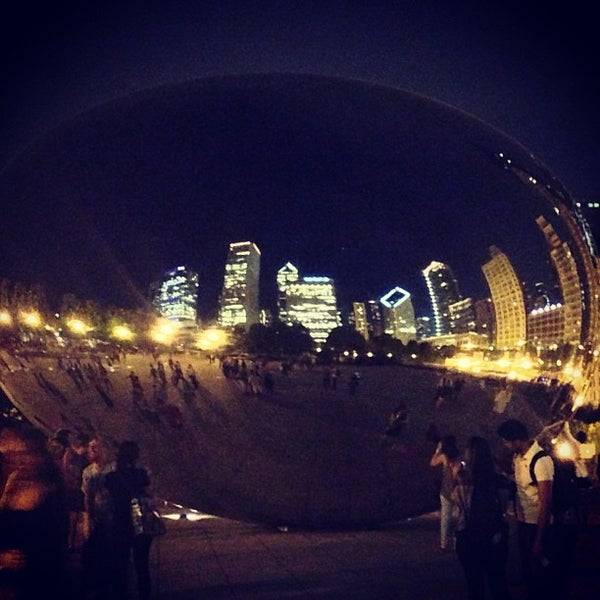 Photo taken at Cloud Gate by Allison K. on 7/28/2013