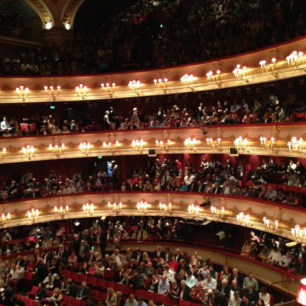 Photo taken at Royal Opera House by Samuel D. on 6/1/2013