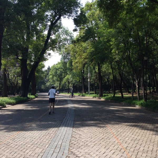 Photo taken at Bosque de Chapultepec by Ursula G. on 4/19/2014