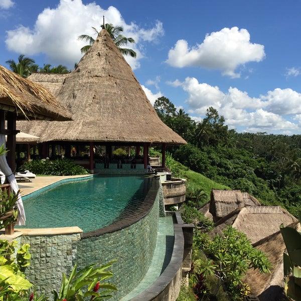 Photo taken at Viceroy Bali by Oleg P. on 2/3/2015