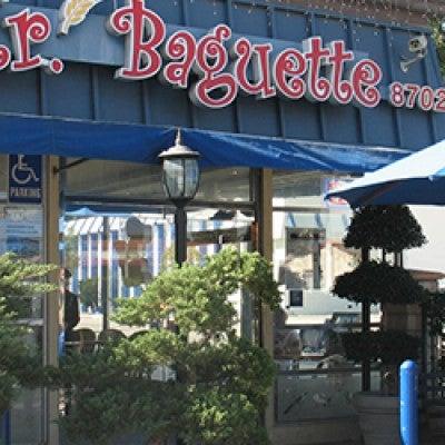 Photo taken at Mr. Baguette by Mr. Baguette on 4/2/2014