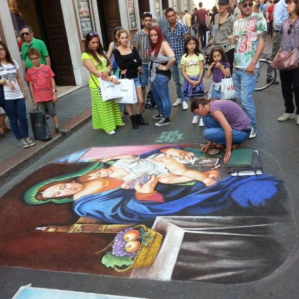 Photo taken at Via Emilia Centro by Fabio Adolfo G. on 6/1/2014