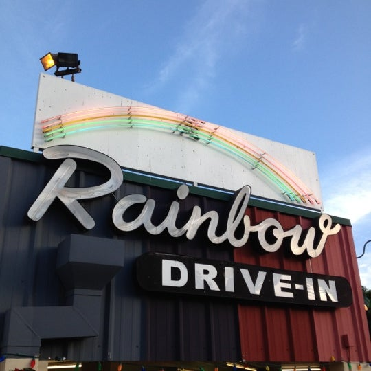 Photo taken at Rainbow Drive-in by Kevin K. on 11/20/2012