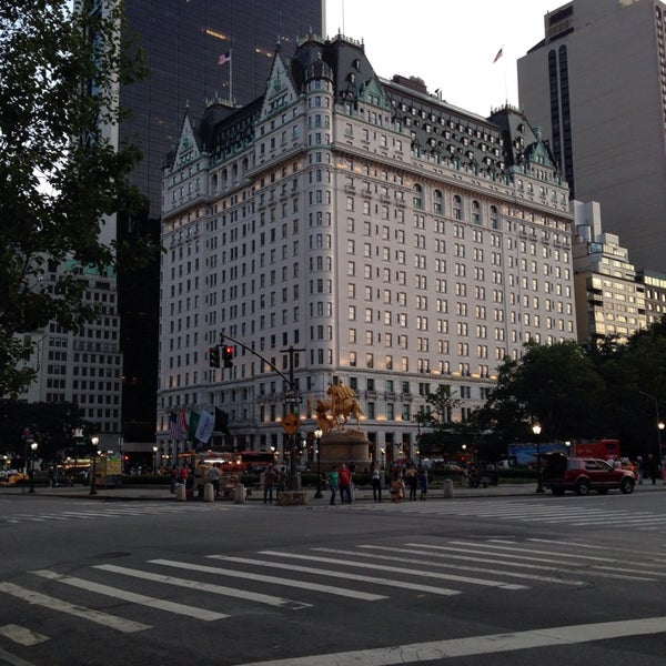 Photo taken at Grand Army Plaza by Carolina F. on 7/21/2014