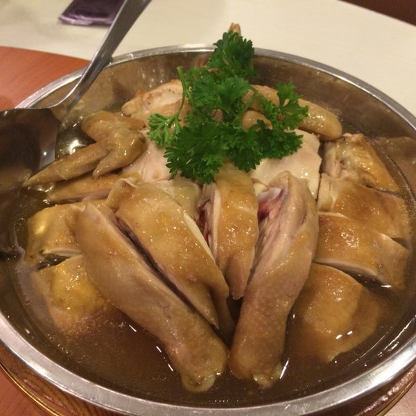 Taste home styled this steamed chicken