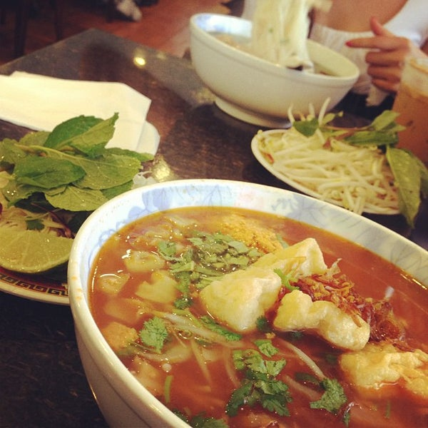 Photo taken at Phở Kim Long by Mike L. on 11/29/2012