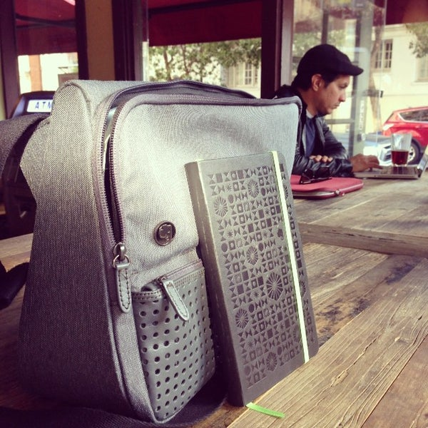 Photo taken at Cup-A-Joe Coffee House by Arman S. on 10/28/2013