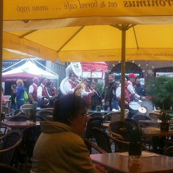 Photo taken at Jeronimus eet & borrel café by henri b. on 5/29/2014