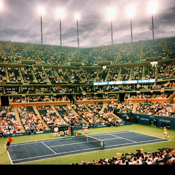 Photo taken at US Open Tennis Championships by Jill S. on 8/27/2013
