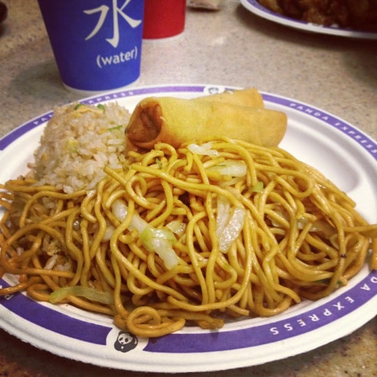Photo taken at Panda Express by Diara T. on 9/24/2012