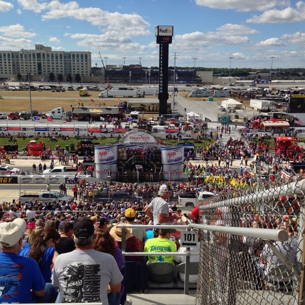 Photo taken at Dover International Speedway by Barbara S. on 9/29/2013
