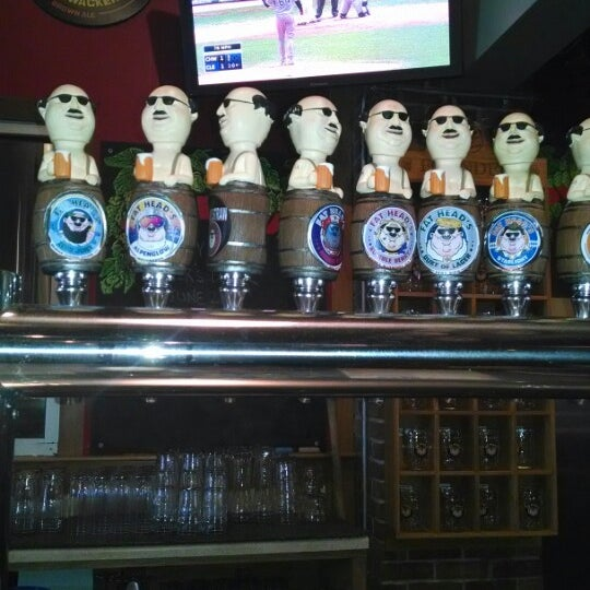 Photo taken at Fat Head's Brewery & Saloon by José F. on 5/4/2014