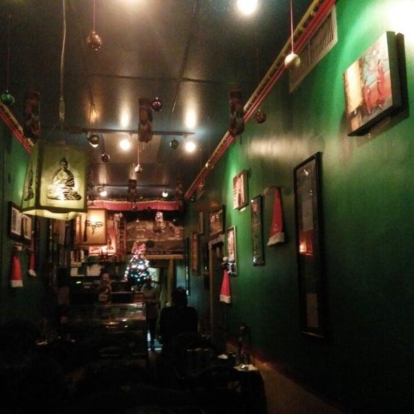Photo taken at Cafe Tibet by Prathyush N. on 12/27/2014
