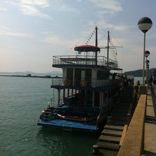 Photo taken at Ao Por Pier by Asia Travel Partner Thailand P. on 1/25/2013