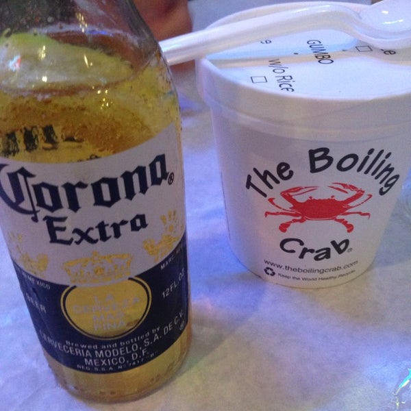 Photo taken at The Boiling Crab by Cat H. on 1/23/2014