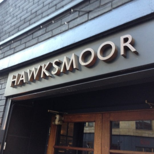 Photo taken at Hawksmoor by Derryck B. on 11/22/2012