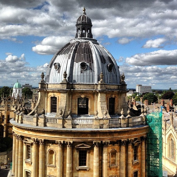 Photo taken at Radcliffe Camera by Anton N. on 8/11/2013