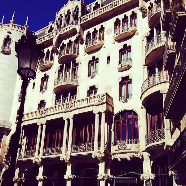 Photo taken at Hotel Casa Fuster by Gabriel . on 2/10/2014