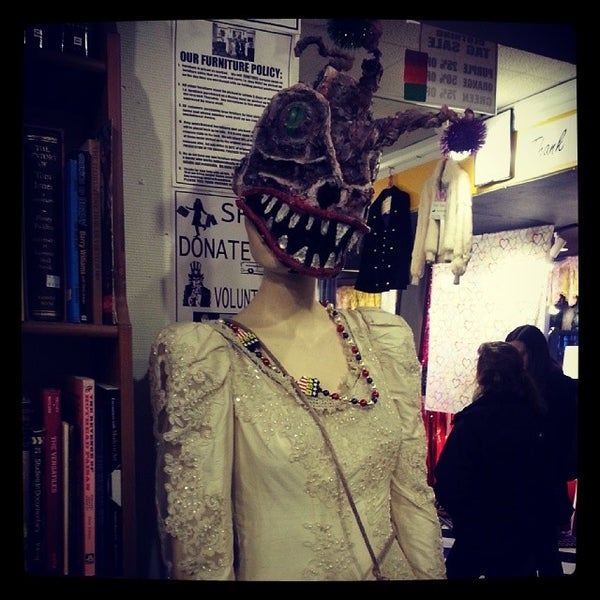 Photo taken at Philly Aids Thrift Shop by Mitch R. on 1/18/2014