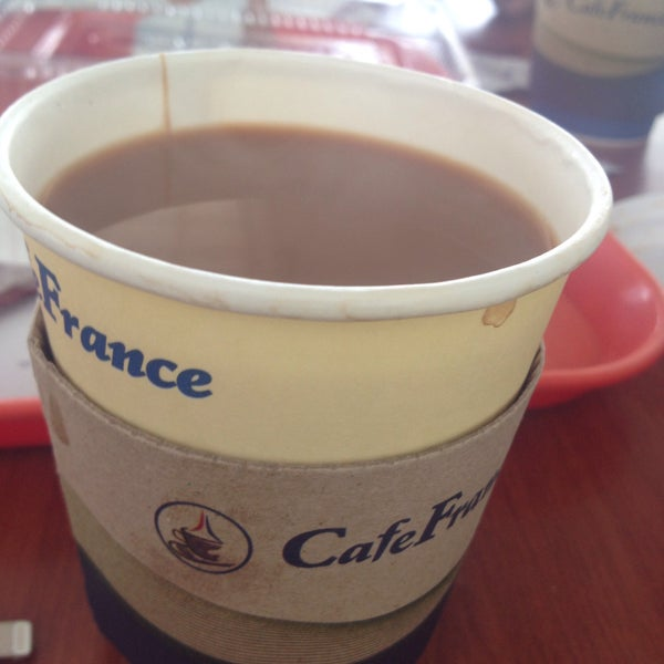 Photo taken at Cafe France by jcay on 3/15/2015