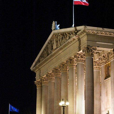 Photo taken at Parlament by Martin O. on 10/19/2012