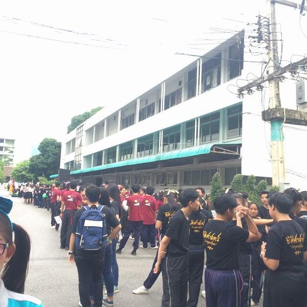Photo taken at Chiang Mai Rajabhat University by tarn🐱 on 8/14/2016