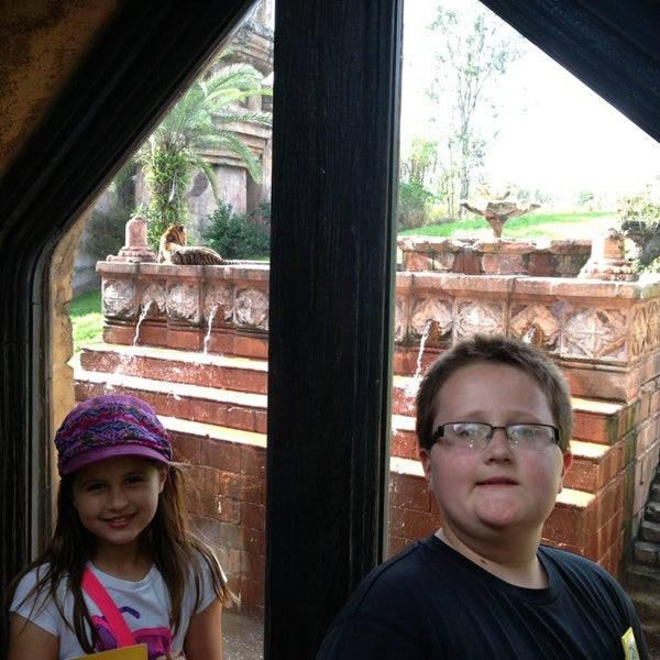 Photo taken at Maharajah Jungle Trek by Chaz P. on 2/23/2014