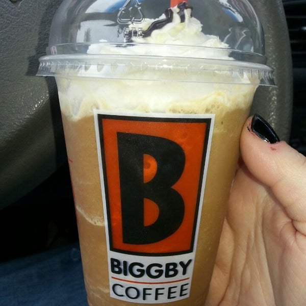 Photo taken at BIGGBY COFFEE by Corrie R. on 4/13/2013