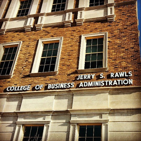 Photo taken at TTU - Rawls College of Business by Eric H. on 7/28/2013