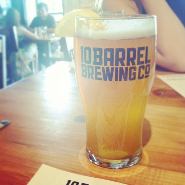 Photo taken at 10 Barrel Brewing by Sunny on 6/24/2014