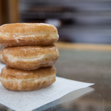 Long's Bakery is an Indianapolis institution. The yeast doughnuts are a popular favorite, but at $10 a dozen, you might as well try every flavor.