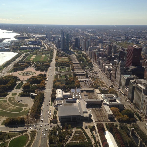 Photo taken at Aon Center by Daniel S. on 10/17/2015