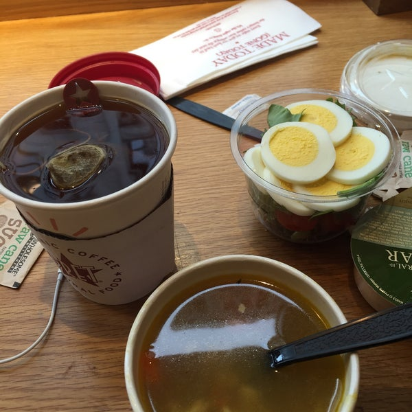 Photo taken at Pret A Manger by Katiusha F. on 3/25/2015
