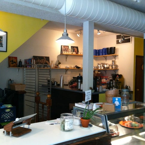 This cute shop boasts a small, yet delectable array of pastries and baked goods, some of which are even vegan.
