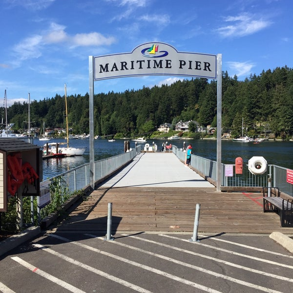 Photo taken at Gig Harbor Waterfront by Chris T. on 7/3/2016