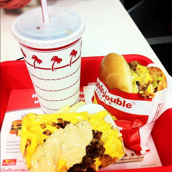 Photo taken at In-N-Out Burger by Brennen F. on 10/29/2012