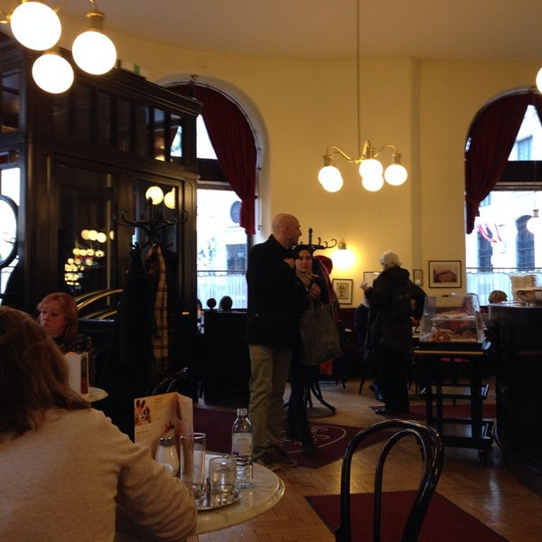Photo taken at Cafe-Restaurant Griensteidl by Damien T. on 2/27/2014