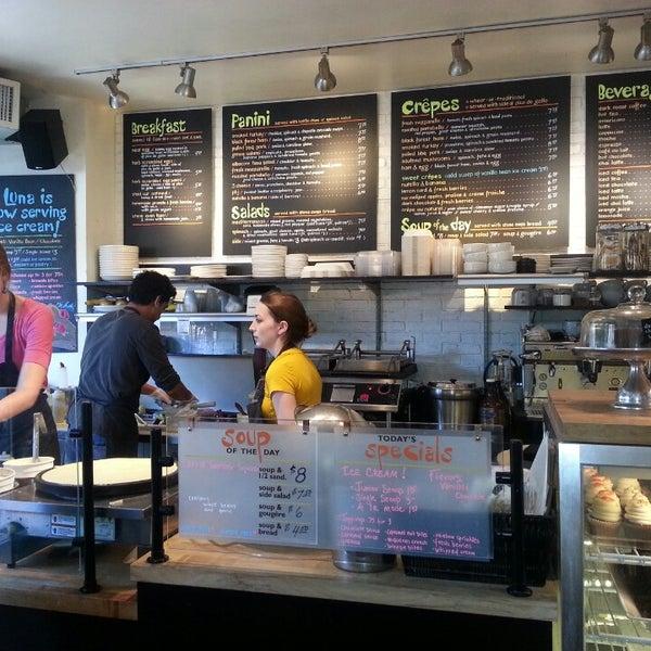 Photo taken at Luna Bakery Café by Michael T. on 8/22/2013