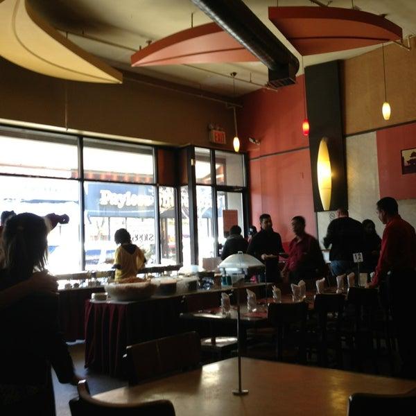 Photo taken at Jackson Diner by Julius Erwin Q. on 2/10/2013