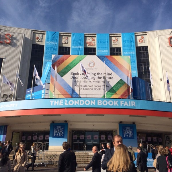 Photo taken at Earls Court Exhibition Centre by Craig A. on 4/8/2014