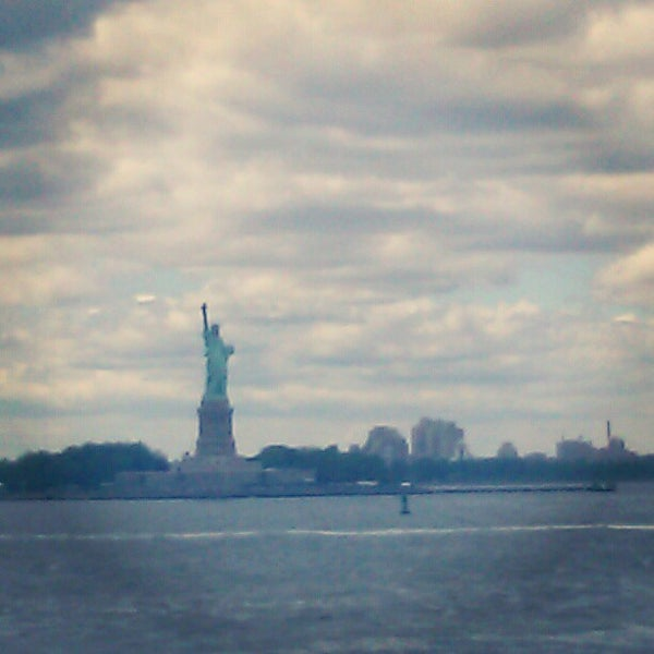 Photo taken at Staten Island Ferry Boat - Guy V. Molinari by Kandice W. on 6/26/2012