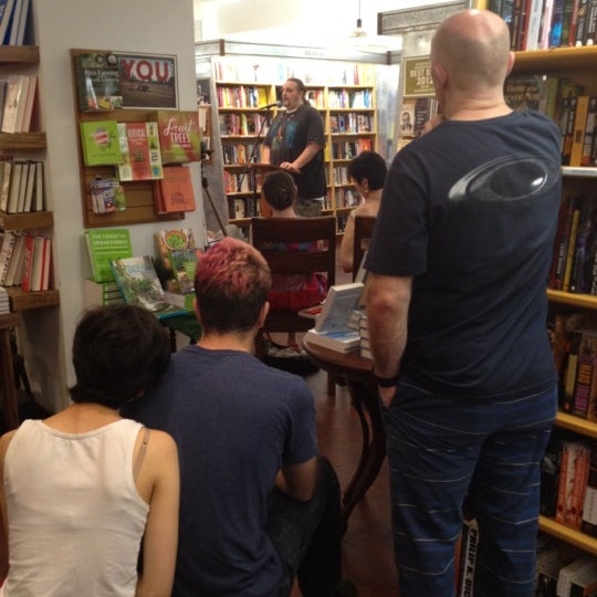 Photo taken at McNally Jackson Books by Brian F. on 7/12/2012
